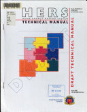 Home Energy Rating System Hers Technical Manual