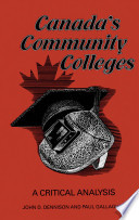 Canada s Community Colleges