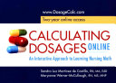 Calculating Dosages Online