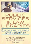 Public Services In Law Libraries book