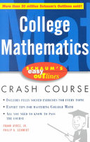 Schaum s Easy Outline of College Mathematics