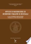 Studi e ricerche di scienze umane e sociali