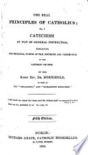 The Real Principles of Catholics     Fifth Edition