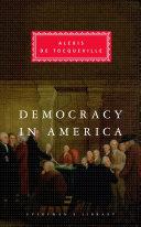 Democracy in America Book Cover