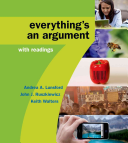 High School Version for Everything s an Argument with Readings