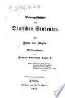 Naturgeschichte des deutschen Studenten