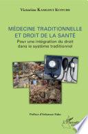 M Decine Traditionnelle Et Droit De La Sant