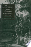 Women Travel Writers and the Language of Aesthetics  1716 1818
