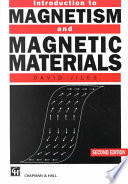 Introduction to Magnetism and Magnetic Materials  Second Edition