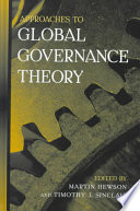 Approaches to Global Governance Theory
