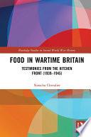 Food in Wartime Britain Book PDF