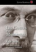 Book Les Cahiers d'un Mammifère
