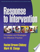 Response to Intervention  Second Edition