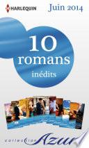 10 romans Azur in  dits  no3475    3484   juin 2014
