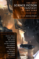 Book The Best Science Fiction and Fantasy of the Year
