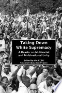 Taking Down White Supremacy