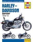 Harley Davidson Sportster  70 to  13