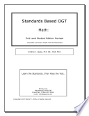 OGT Math Graduation Tests In Mathematics At The