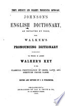 Johnson s English Dictionary