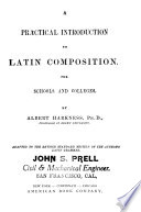 Practical Introduction to Latin Composition