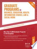 Peterson s Graduate Programs in Social Work 2011