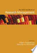 The SAGE Handbook of Research Management