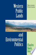 Western Public Lands And Environmental Politics  Second Edition