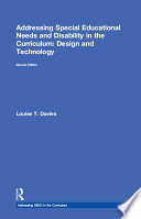 Addressing Special Educational Needs and Disability in the Curriculum  Design and Technology