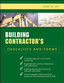 Building Contractor s Checklists and Forms