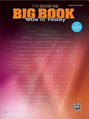 The New Guitar Tab Big Book   90s to Today