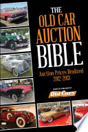 Old Car Auction Bible Car Auction Bible Is Your Handy Resource