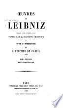 illustration Œuvres de Leibniz