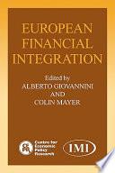 European Financial Integration