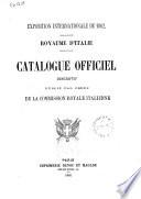 Exposition internationale de 1862 Royaume d'Italie publié par ordre de la Commission Royale italienne