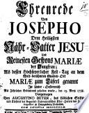 Ehrenrede von Josepho
