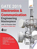 GATE 2019 Electronics   Communication Engineering Masterpiece with 10 Practice Sets  6 in Book   4 Online  6th edition