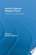 Beyond Cognitive Metaphor Theory book