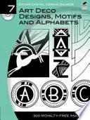 Art Deco Designs  Motifs and Alphabets