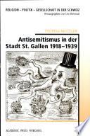 Antisemitismus in der Stadt St. Gallen 1918-1939