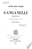 Lettere, bolle e discorsi di Ganganelli (Clemente XIV).