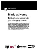 Made at Home: British homeworkers in the global supply chain