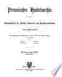 Preussisches Handelsarchiv