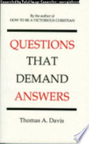 Questions That Demand Answers