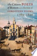 The Citizen Poets of Boston
