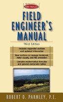 Field engineer s manual