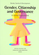 Gender  citizenship and governance