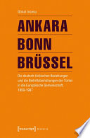 Ankara - Bonn - Brüssel