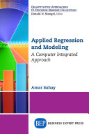 Applied Regression and Modeling