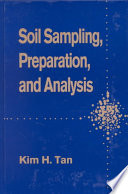 Soil Sampling  Preparation  and Analysis