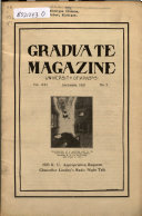 The Graduate Magazine of the University of Kansas
